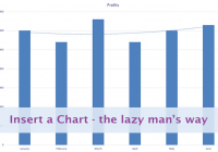 Inserting a Chart the lazy way