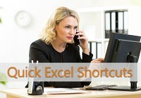 Quick Excel Shortcuts